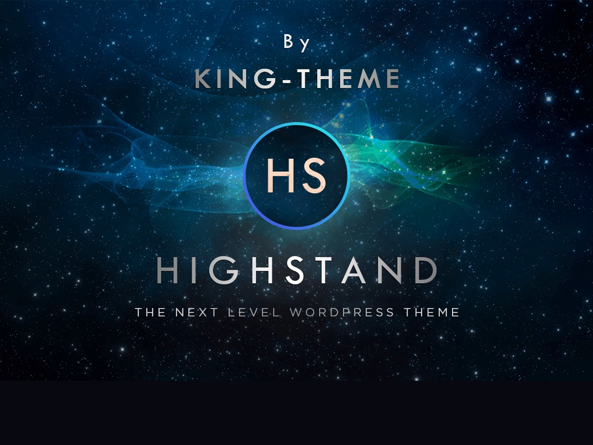 HighStand best WordPress template