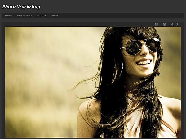 Photo Workshop WordPress ecommerce theme