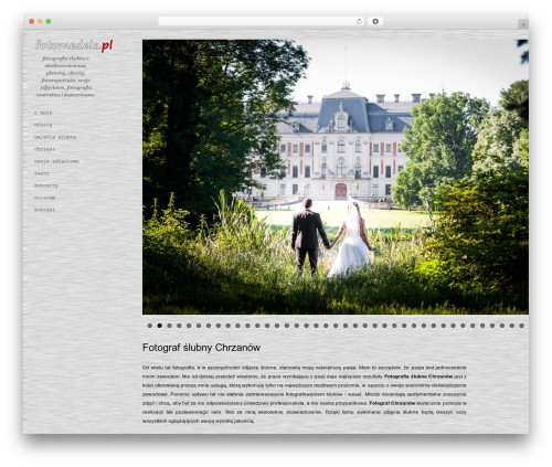 Photum WordPress theme - fotomedela.pl