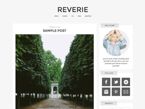 reverie top WordPress theme