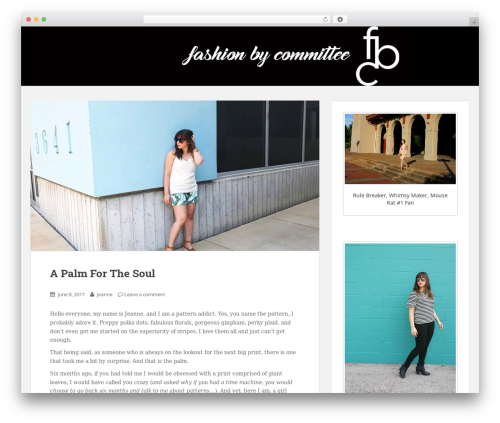 Sparkling WordPress theme free download - fashionbycommittee.com