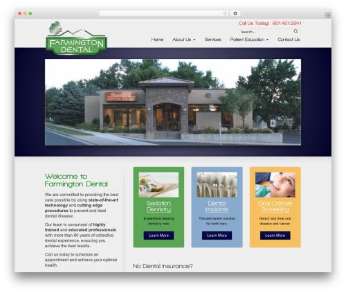 Striking MultiFlex & Ecommerce Responsive WordPress Theme best WooCommerce theme - farmingtondental.com