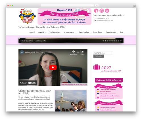 Striking MultiFlex & Ecommerce Responsive WordPress Theme WordPress theme design - filleaupairauxusa.com