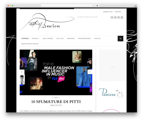 StyleMag theme WordPress - fashionancien.com