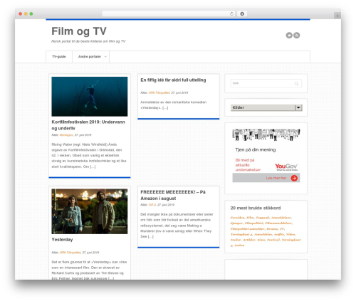Swagger WP template - filmogtv.no