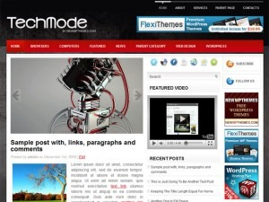TechMode WordPress theme