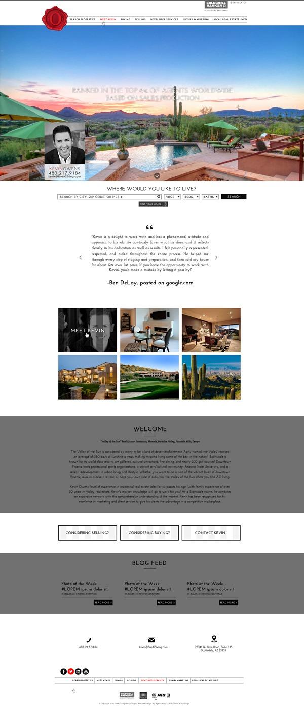 Template WordPress Fine AZ Living