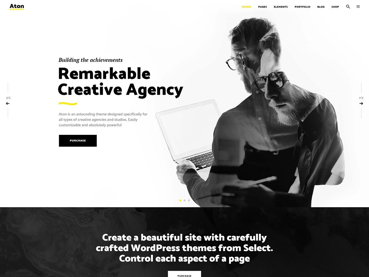 Theme WordPress Aton