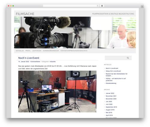 Theme WordPress picolight - filmsache.de