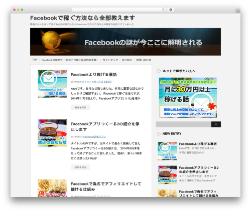 Theme WordPress stinger3ver20131023 - facebookkasegu.com