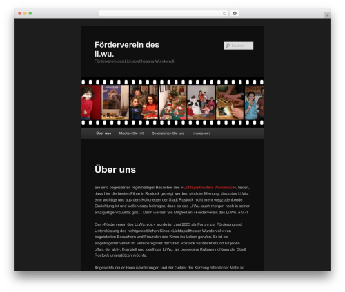 Twenty Eleven best free WordPress theme - foerderverein-liwu.de