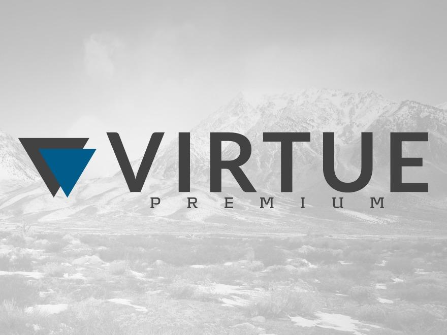 Virtue - Premium WordPress portfolio template