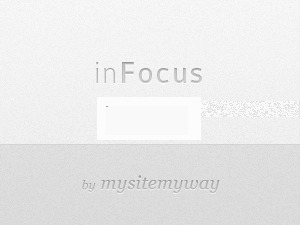 WordPress template inFocus