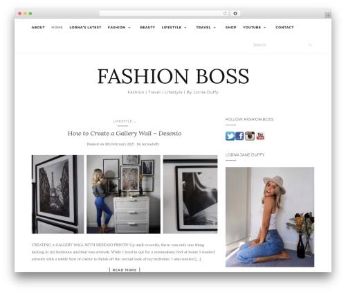 WordPress theme Activello - fashionboss.ie
