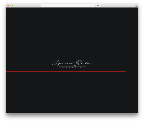 WordPress ut-portfolio plugin - fotosboudoir.es