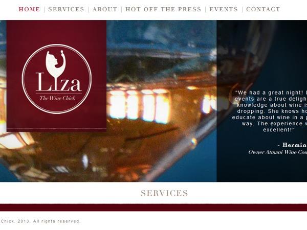 WordPress theme Liza