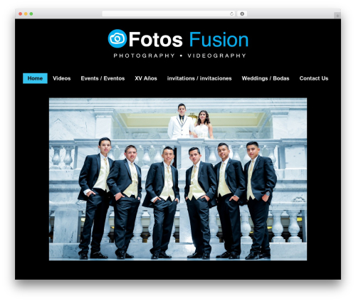 WordPress theme Photocrati Theme - fotosfusion.com