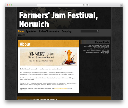 WordPress theme Ping - farmersjam.org
