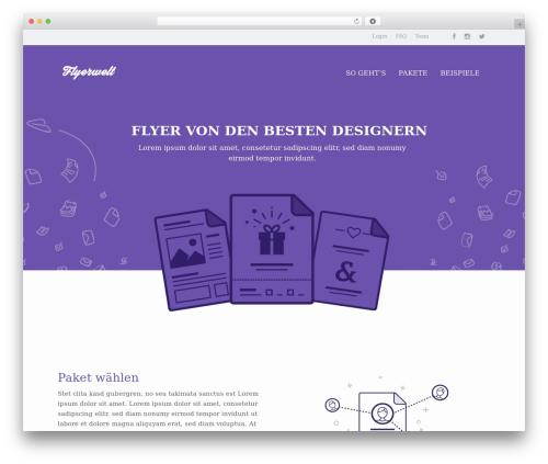 Free WordPress Carousel Slider plugin - flyerwelt.ch