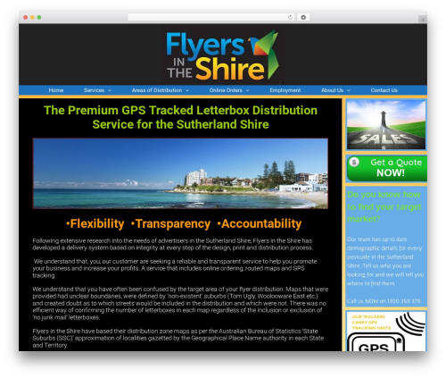 WP template Exhibit - flyersintheshire.com.au