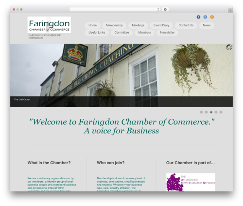 Free WordPress All-in-One Event Calendar plugin - faringdonchamberofcommerce.co.uk