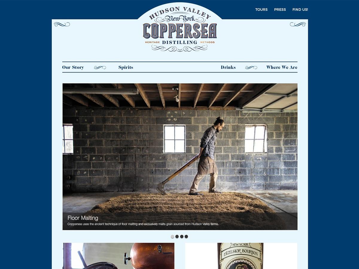 Coppersea Emporia WordPress template