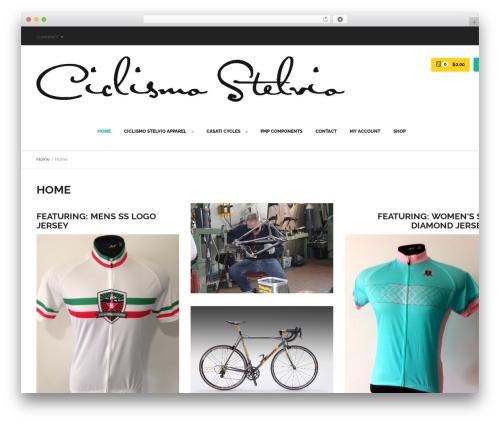 Exist Multi Purpose WordPress Theme theme WordPress - ciclismostelvio.com
