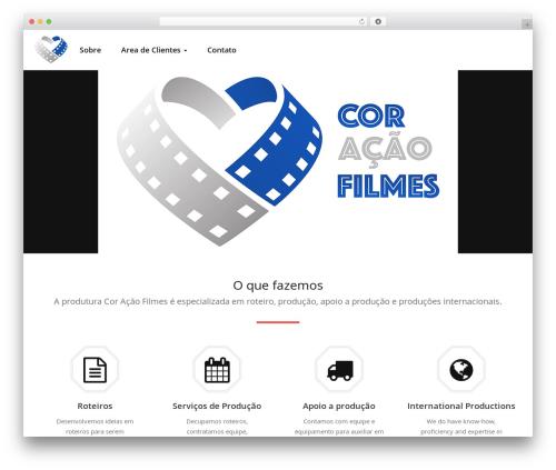 Quality WordPress theme - coracaofilmes.com