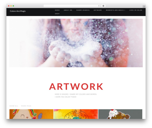 RED:FOLIO WordPress theme - colorsaremagic.com