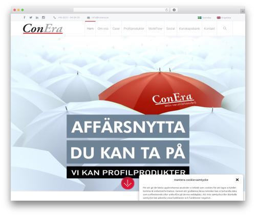 Salamat WordPress theme - conera.se