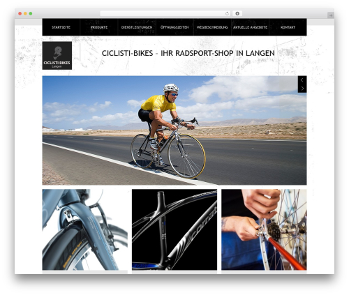 Theme 1274 best WordPress theme - ciclisti.de