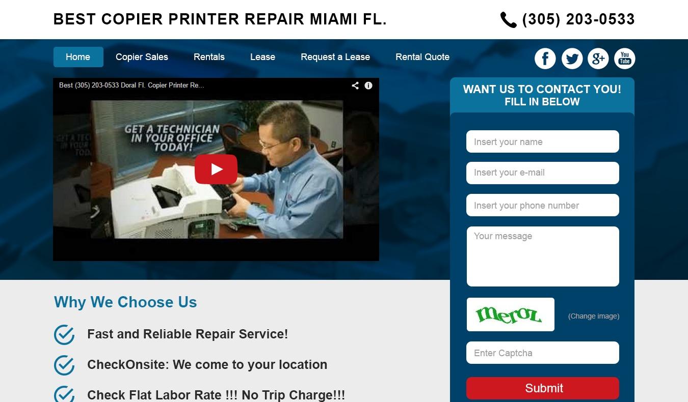 WordPress website template PQ Niche site