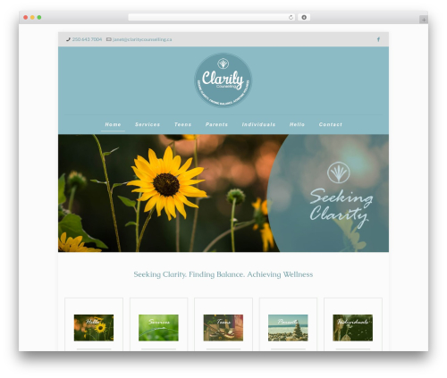 Betheme WP template - claritycounselling.ca