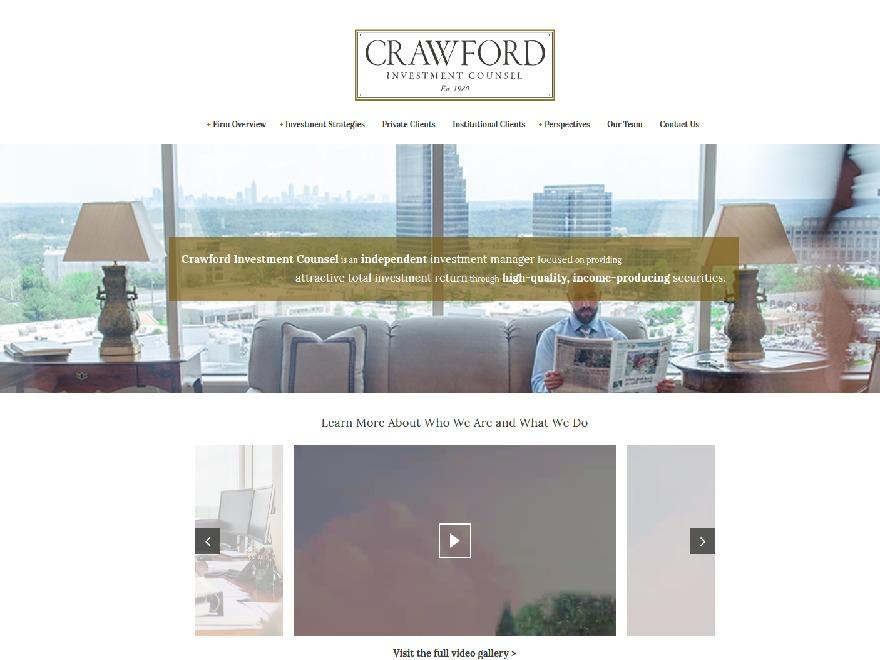Crawford WordPress template