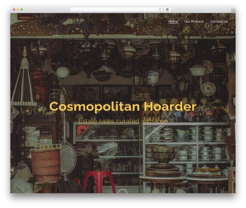 Jupiter best WordPress theme - cosmopolitanhoarder.com