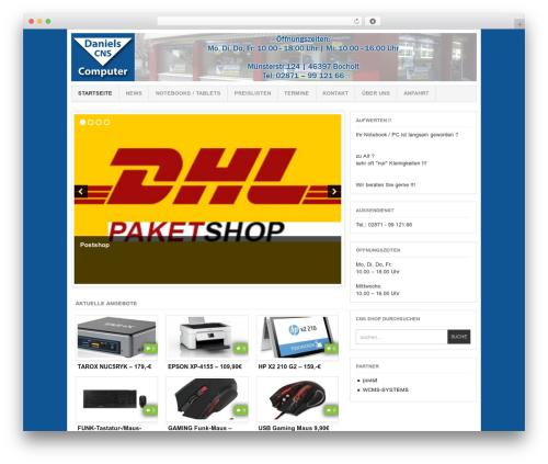 Project AR2 WordPress shopping theme - cns-shop.de