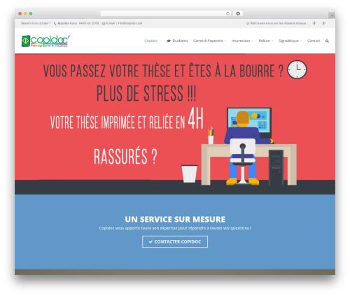 Theme WordPress Route - copidoc.net