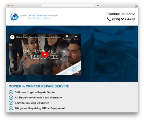 WordPress template PQ Niche site - copierrepairdesmoines.com