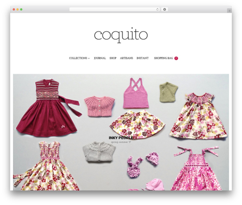 WordPress theme coquito Child Theme - coquito.eu