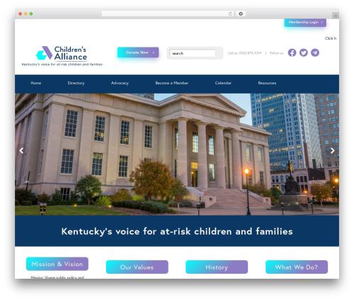 Free WordPress Ditty News Ticker plugin - childrensallianceky.org