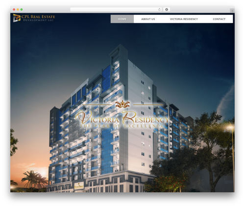 CPL real estate WordPress theme - cpl.ae