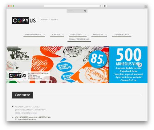 WEN Business best free WordPress theme - copyus.net