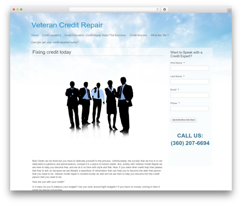 WordPress theme P2 - creditrepair-seattle.net