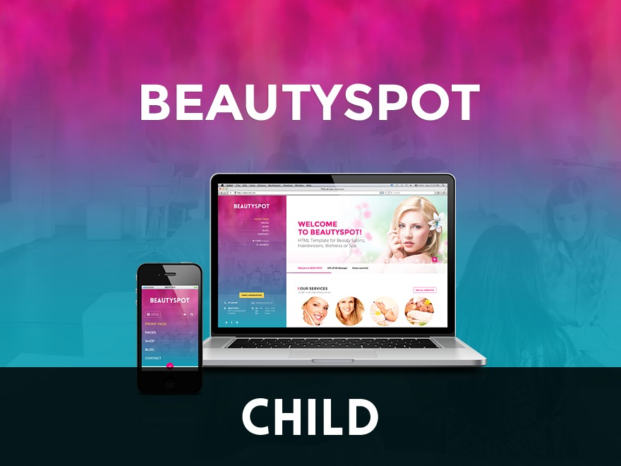 BeautySpot Child template WordPress