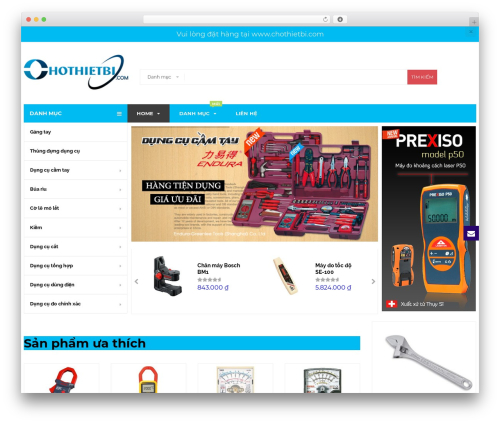 BigBoom theme WordPress - chothietbi.vn