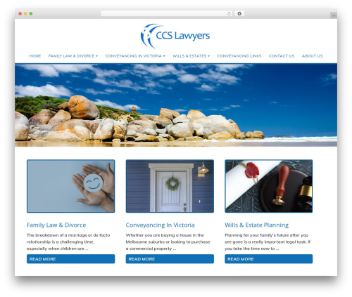 Minimum Pro Child 001 premium WordPress theme - ccslawyers.com