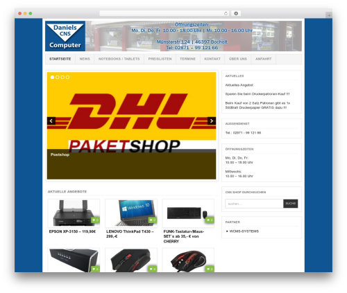 Project AR2 WordPress shopping theme - cns-shopping.de