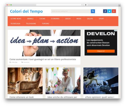 SociallyViral by MyThemeShop WordPress template - colorideltempo.it