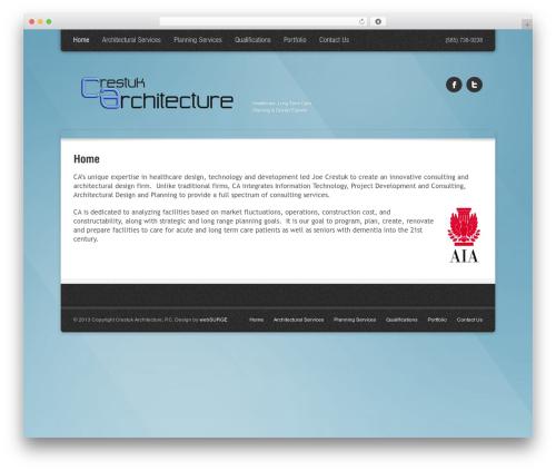 Theme WordPress Arctica - crestukgroup.com
