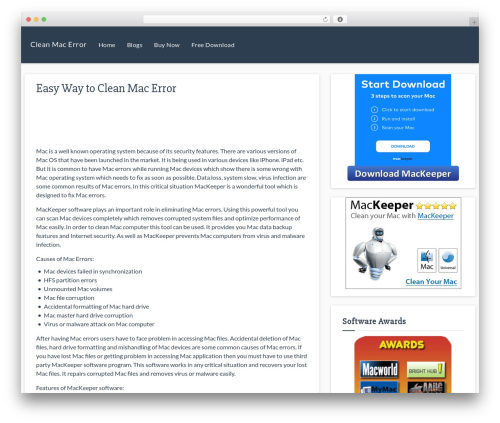 Theme WordPress Responsive Deluxe - cleanmacoserror.com